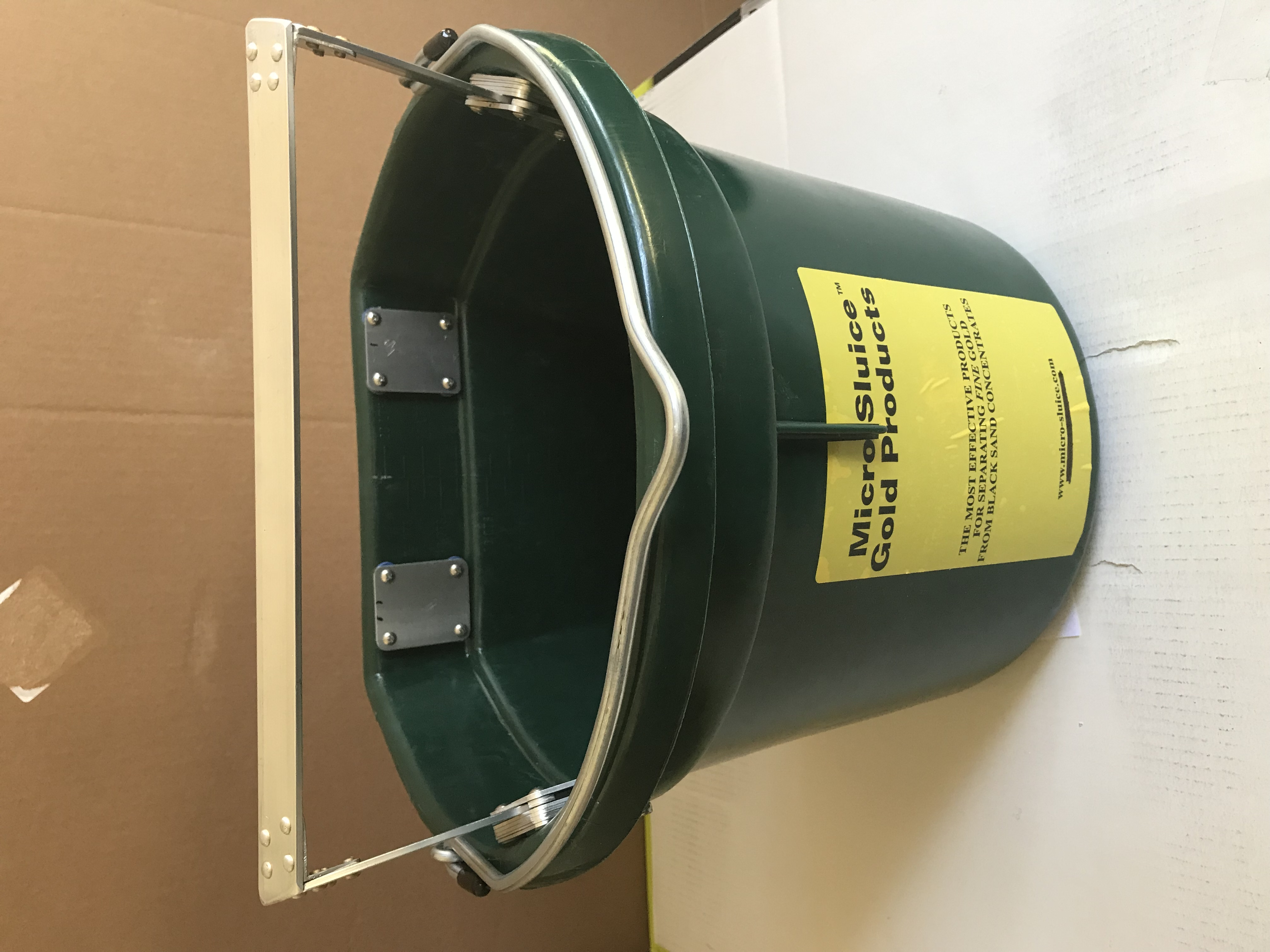 Replacement Bucket with Plates & Cross Bar Assembly