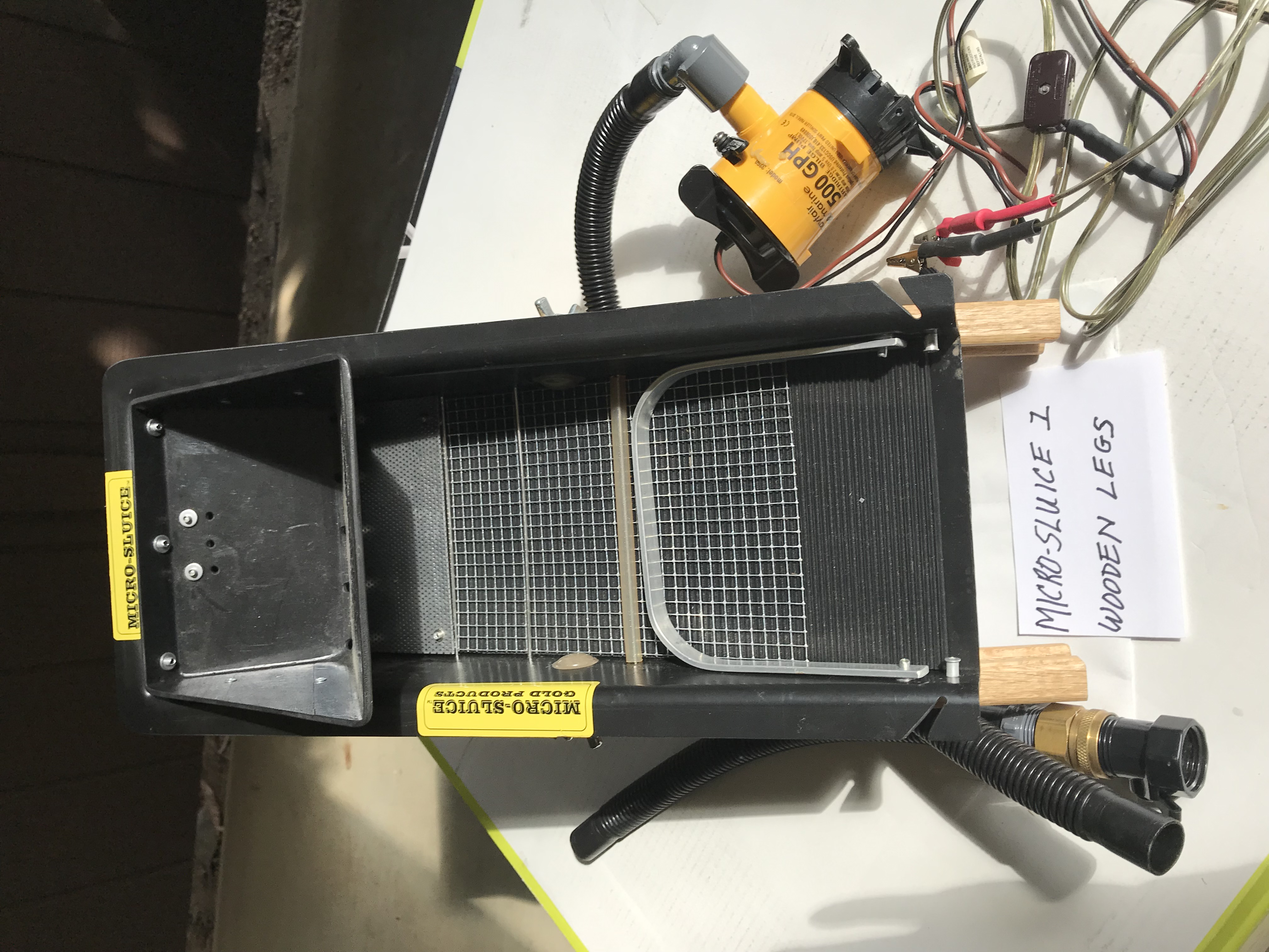 Micro-Sluice 1 (version 1)